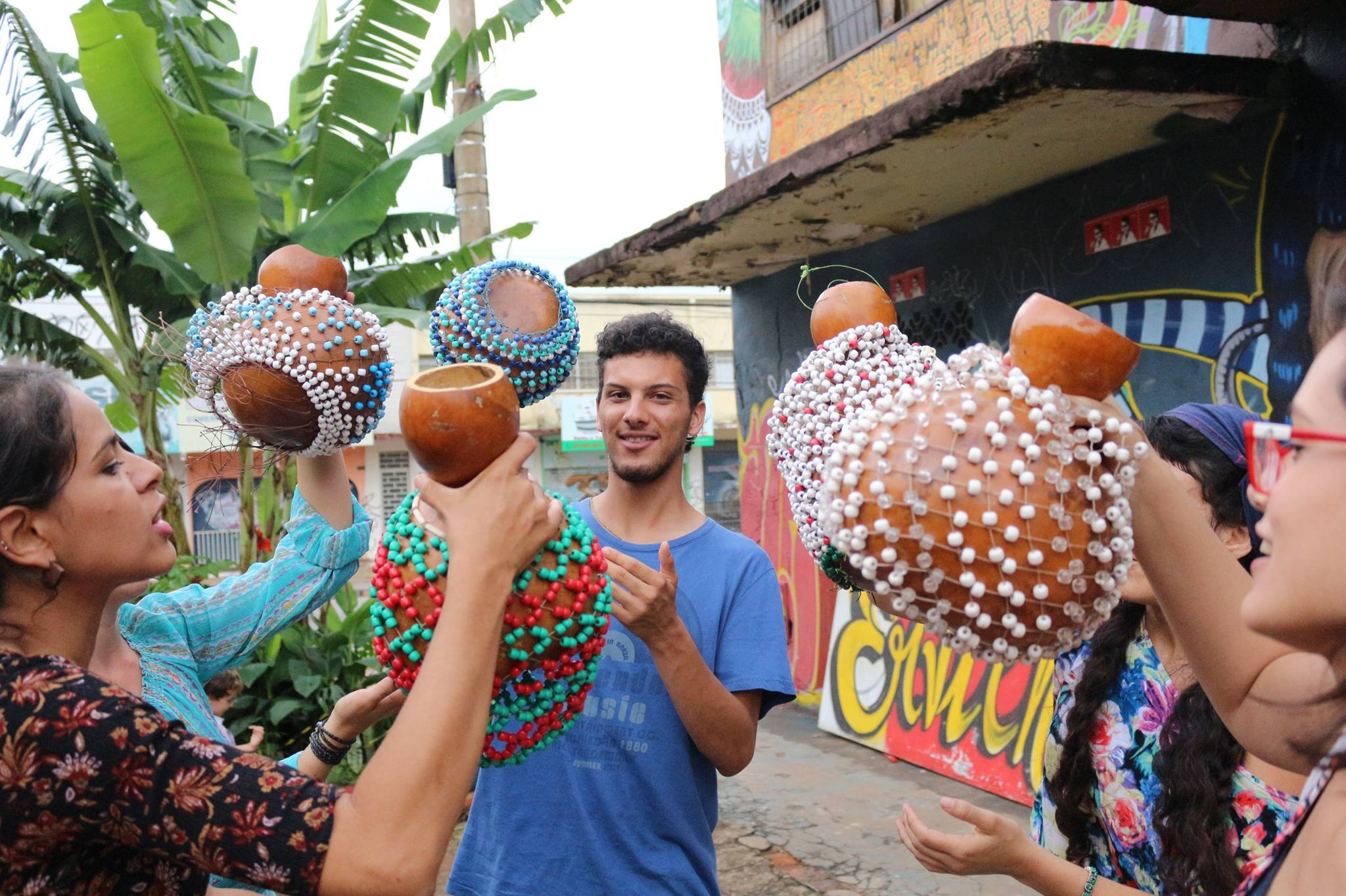 Atividades formativas e culturais do MErcado Sul Vive. Foto: Webert da Cruz