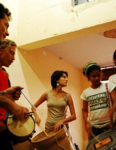 Atividades culturais do ECMS.  Foto: Lucas Viana / Arquivo ECMS