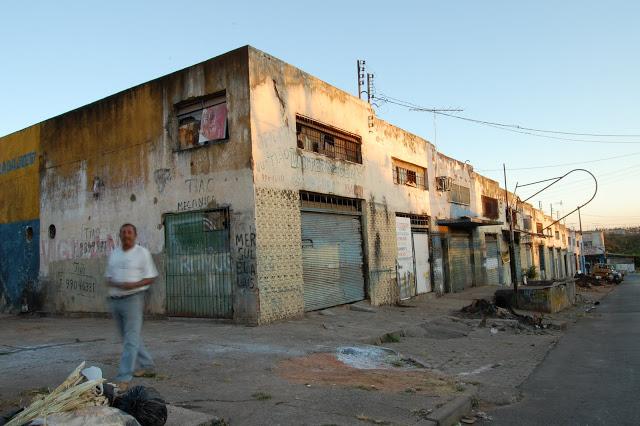 Mercado Sul abandonado em 2010. Foto: Arquivo MSV