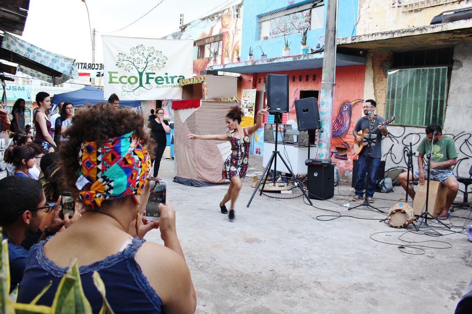 Ecofeira do Mercado Sul. Foto: Webert da Cruz
